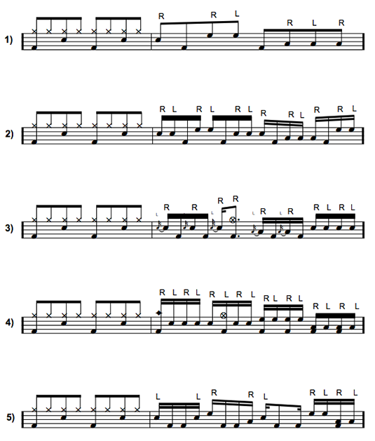 16 NOTE DRUM FILLS EPUB DOWNLOAD